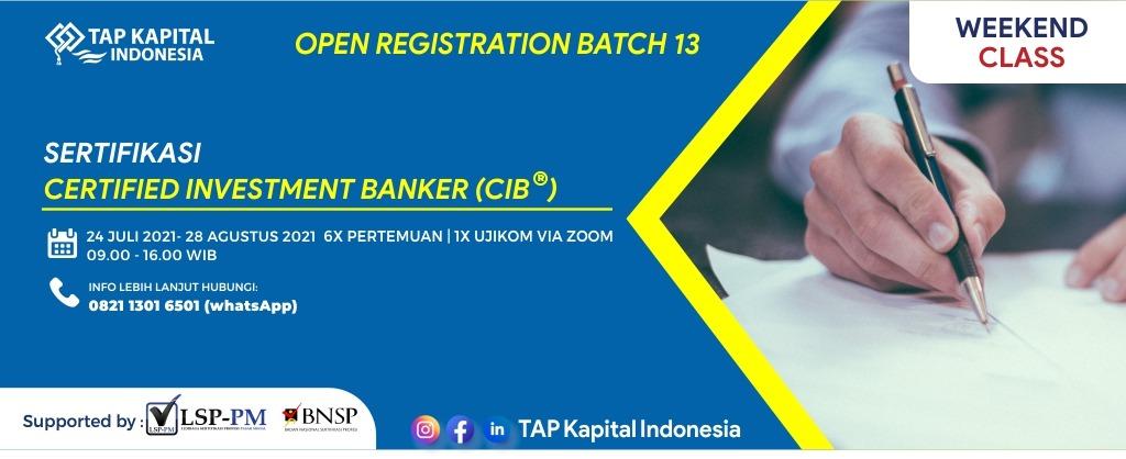 Sertifikasi Investment Banker